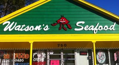 Photo of Seafood Restaurant Watsons Seafood at 750 Pennsylvania Ave, Savannah, GA 31404, United States