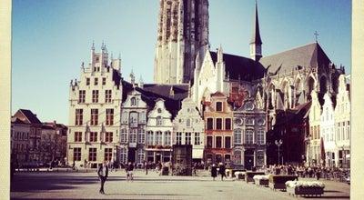 Photo of Plaza Grote Markt at Grote Markt, Mechelen 2800, Belgium