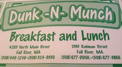 Photo of Diner Dunk-N-Munch at 1393 Roman Street, Fall River, MA 02721, United States