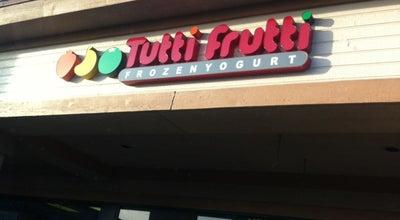 Photo of Dessert Shop Tutti Frutti at 11743 Whittier Blvd, Whittier, CA 90601, United States