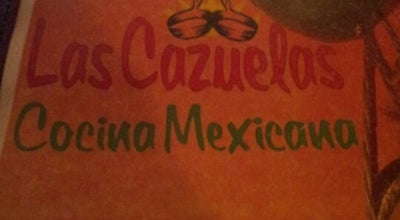 Photo of Mexican Restaurant Las Cazuelas Mexican Restaurant at 922 Saraland Blvd S, Saraland, AL 36571, United States