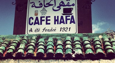Photo of Coffee Shop Café Hafa at Tanger, Morocco