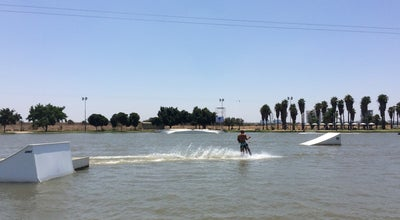 Photo of Water Park Cable Waterskiing / Троссовые Водные Лыжи / סקי מים בכבלים at פארק מנחם בגין-דרום, תל אביב, Israel
