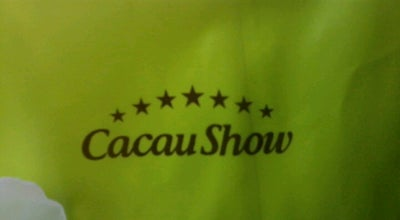 Photo of Chocolate Shop Cacau Show at Av Dom Aureliano Matos 2314, LIMOEIRO DO NORTE 62930-000, Brazil