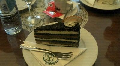 Photo of Cafe Budavar Ruszwurm Cukraszda at 1014 Budapest Szentharomsag Utca 7, Budapest 1014, Hungary