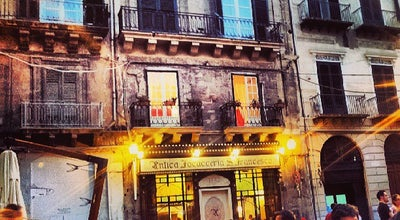 Photo of Italian Restaurant Antica Focacceria San Francesco at Via Alessandro Paternostro, 58, Palermo, Italy