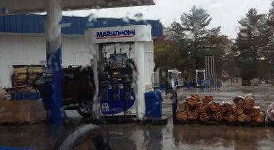 Photo of Gas Station / Garage Marathon at 300 S Morenci St, Mio, MI 48647, United States