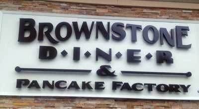 Photo of Diner Brownstone Diner & Pancake Factory at 426 Jersey Ave, Jersey City, NJ 07302, United States