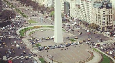 Photo of Monument / Landmark Obelisco - Plaza de la República at Av. 9 De Julio, Buenos Aires, Argentina