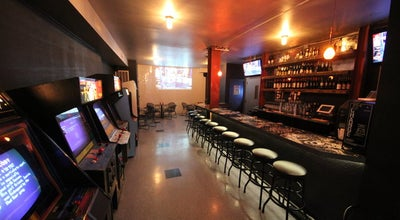 Photo of American Restaurant Two Bit's Retro Arcade at 153 Essex St, New York City, NY 10002, United States