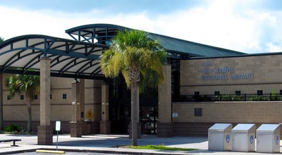 Photo of Library New Tampa Regional Library at 10001 Cross Creek Blvd, Tampa, FL 33647, United States