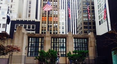 Photo of American Restaurant Trump Tower Bar and Grill at 725 5th Ave., New York City, NY 10022, United States