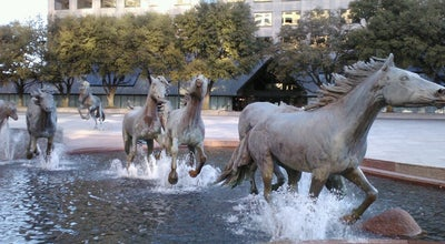 Photo of Outdoor Sculpture The Mustangs of Las Colinas at 5205 N O Connor Blvd, Irving, TX 75039, United States