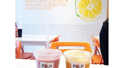 Photo of Juice Bar Pulp Kitchen at 565 Danforth Ave, Toronto, On, Canada