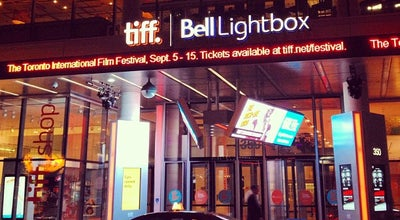 Photo of Movie Theater TIFF Bell Lightbox at 350 King St. W, Toronto, ON M5V 3X5, Canada