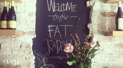 Photo of Restaurant The Fat Radish at 17 Orchard Street, New York, New York, NY 10002, United States