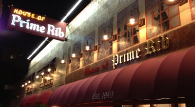 Photo of Steakhouse House of Prime Rib at 1906 Van Ness Ave, San Francisco, CA 94109, United States