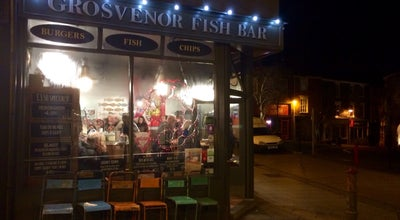 Photo of Fish and Chips Shop Grosvenor Fish Bar at 28, Norwich Lanes, United Kingdom