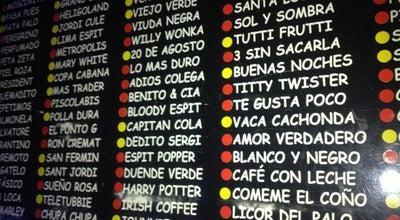 Photo of Cocktail Bar Espit Chupitos at C. Aribau, 77, Barcelona 08036, Spain