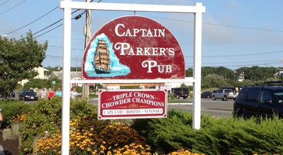 Photo of Seafood Restaurant Captain Parker's Pub at 668 Route 28, West Yarmouth, MA 02673, United States