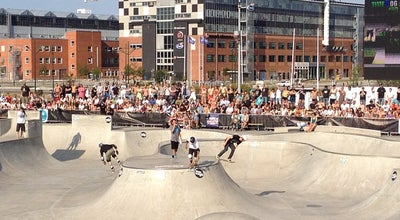 Photo of Skate Park Stapelbäddsparken at Västra Varvsgatan 13, Malmö 211 16, Sweden