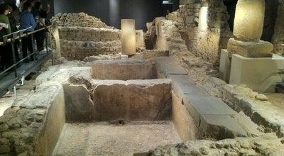Photo of History Museum Museu d'Història de Barcelona (MUHBA) at Pl. Del Rei, S/n, Barcelona 08002, Spain