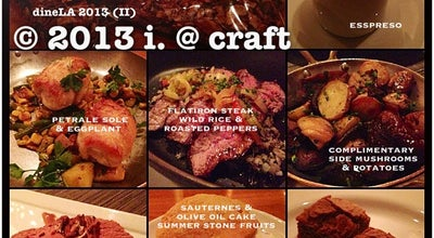 Photo of Steakhouse Craft at 10100 Constellation Boulevard, Los Angeles, CA 90067, United States