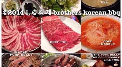 Photo of Korean Restaurant 형제 Brothers Korean BBQ at 12218 Centralia St, Lakewood, CA 90715, United States