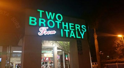 Photo of Pizza Place Two Brothers from Italy at 4760 Oceanside Blvd, Oceanside, CA 92056, United States