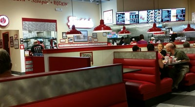 Photo of Burger Joint Freddy's Frozen Custard & Steakburgers at 6846 E. Hampton Rd., Mesa, AZ 85209, United States
