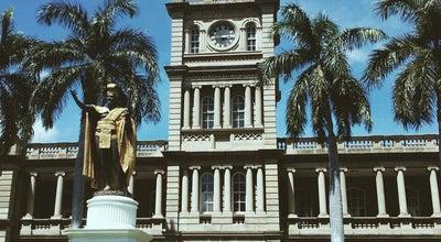 Photo of Courthouse Ali'iolani Hale - Hawai'i Supreme Court at 417 S King St, Honolulu, HI 96813, United States
