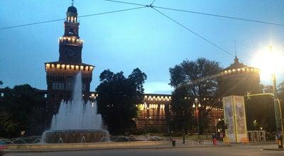 Photo of Plaza Piazza Castello at Piazza Castello, Milano 20121, Italy