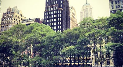 Photo of Other Venue Bryant Park at New York, NY 10018, United States