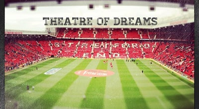 Photo of Soccer Stadium Old Trafford at Sir Matt Busby Way, Manchester M16 0RA, United Kingdom