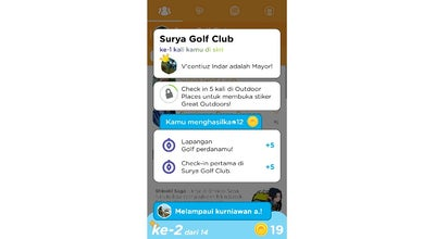 Photo of Golf Course Surya Golf Club at Kediri, Indonesia