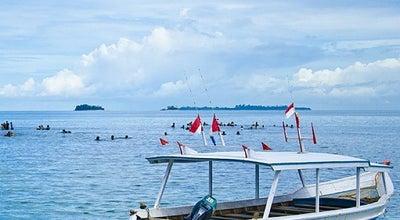 Photo of Beach Pantai carocok at Painan, Indonesia