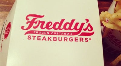 Photo of Burger Joint Freddy's Frozen Custard & Steakburgers at 2103 Washington Bvld., Bartlesville, OK 74006, United States