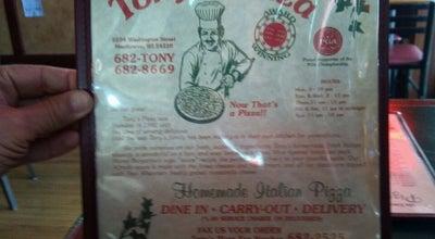 Photo of Pizza Place Tony's Pizza at 2204 Washington St, Manitowoc, WI 54220, United States