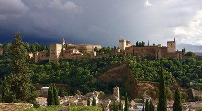 Photo of Historic Site La Alhambra at Granada, Spain