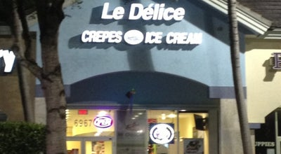 Photo of Ice Cream Shop Le Délice Crêpes & Ice Cream at 6967 W Broward Blvd, Plantation, FL 33317, United States
