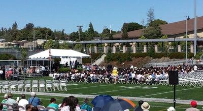 Photo of High School Castro Valley High School at 19400 Santa Maria Ave, Castro Valley, CA 94546, United States