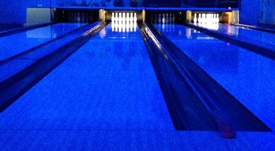 Photo of Bowling Alley Blue o - Orion mall at Bangalore, India