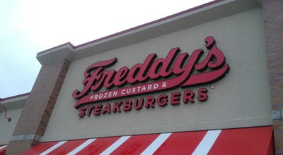 Photo of Burger Joint Freddy's Frozen Custard & Steakburger at 194 Nw Oldham Pkwy, Lees Summit, MO 64081, United States
