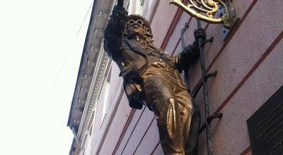 Photo of Monument / Landmark Пам'ятник ліхтарнику Дяді Колі / Monument to lamplighter Uncle Kolya at Вул. Корзо, Ужгород 88000, Ukraine