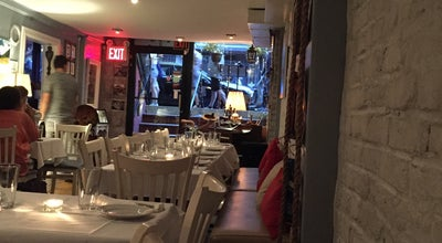 Photo of Restaurant Red Compass at 154 Orchard St, New York, NY 10002, United States