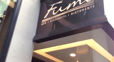 Photo of Italian Restaurant Fumo at 1 Waterloo St., Birmingham B2 5PG, United Kingdom