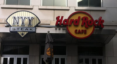 Photo of Nightclub Hard Rock Cafe Yankee Stadium at 1 E 161st St, Bronx, NY 10451, United States