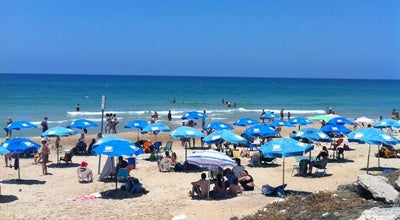 Photo of Beach Dado Beach (חוף דדו) at Haifa, Israel