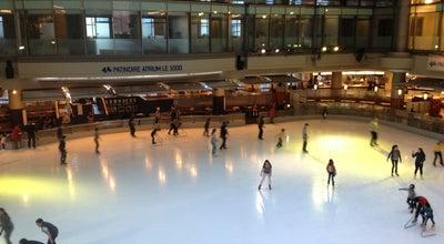 Photo of Skating Rink Atrium Le 1000 at 1000, Rue De La Gauchetière Ouest, Montréal, QC H3B 4W5, Canada