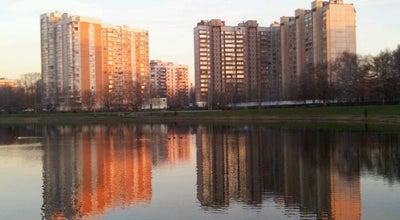 Photo of Lake Капустинский пруд at Пр. Нансена, Москва, Russia